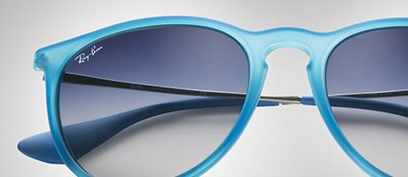 Custom Ray-Ban Erika bridge and lens