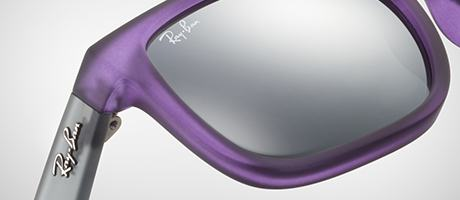 Custom Ray-Ban Justin two colors combined