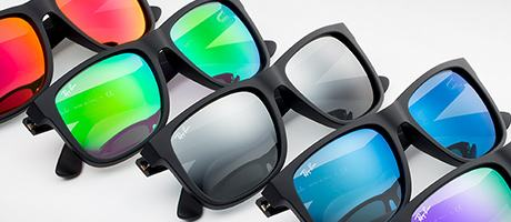 Custom Ray-Ban Justin lenses