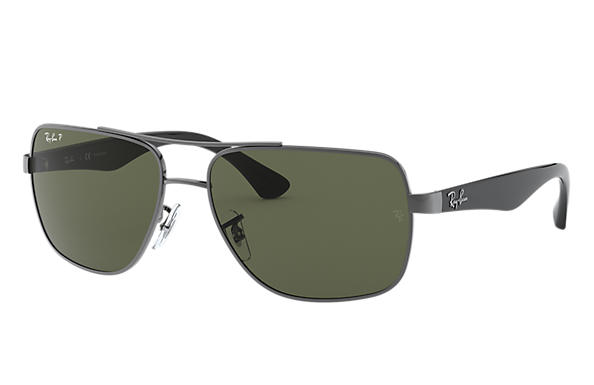 Ray-Ban 0RB3483-RB3483 Gunmetal; Black SUN