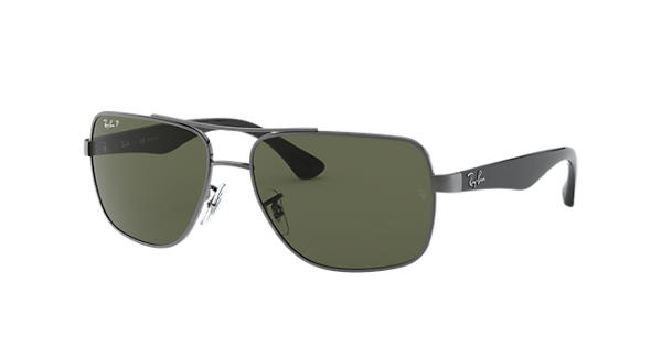 4203341b13e Ray-Ban RB3483 Gunmetal - Metal - Green Polarized Lenses - 0RB3483004 5860