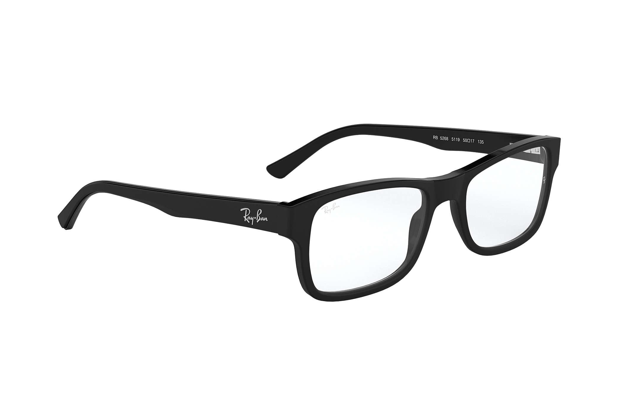 118c92ada7 Gafas de vista Ray-Ban RB5268 Negro - Acetato - 0RX5268511950 | Ray ...