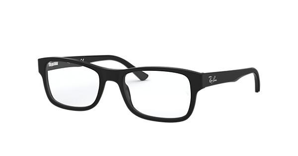 44bfd4647e Ray-Ban prescription glasses RB5268 Black - Acetate - 0RX5268511950 ...