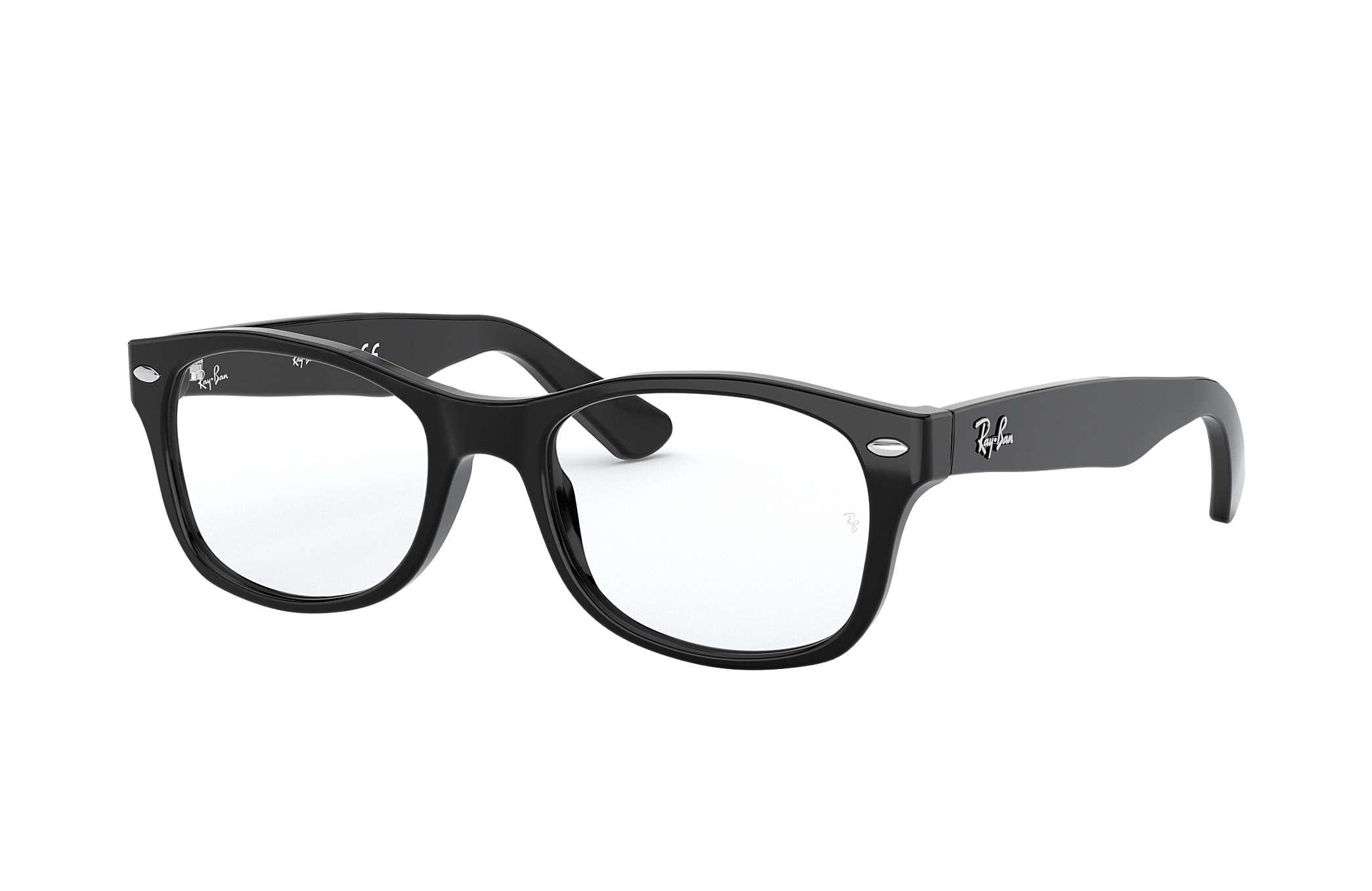 Womens 5228 Optical Frames, Negro, 55 Ray-Ban