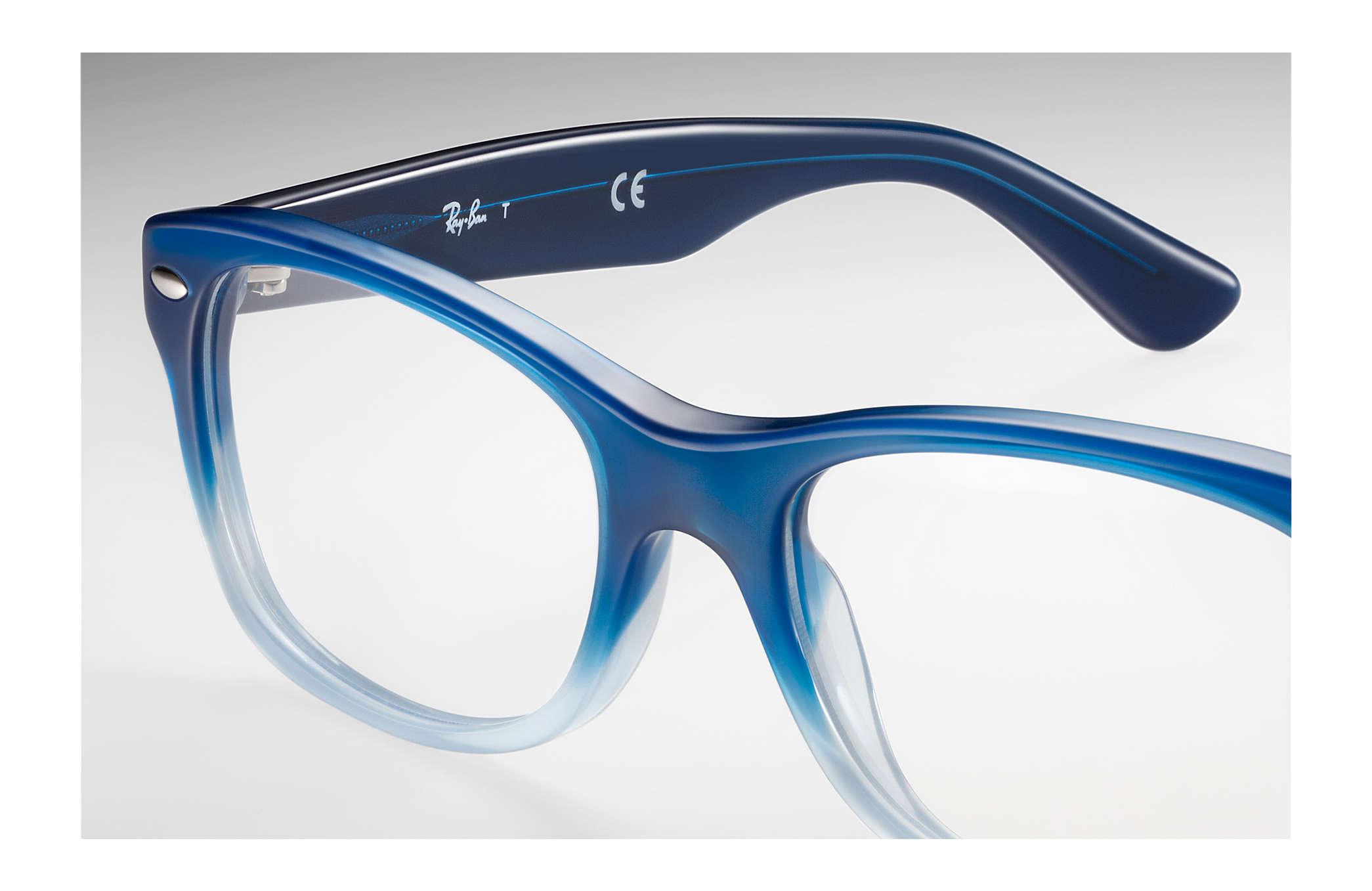34f39278692 Ray-Ban prescription glasses RY1528 Blue - Acetate - 0RY1528358148 ...