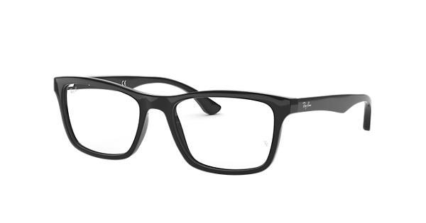 6cbf7f9c5b Ray-Ban prescription glasses RB5279 Black - Acetate - 0RX5279200053 ...