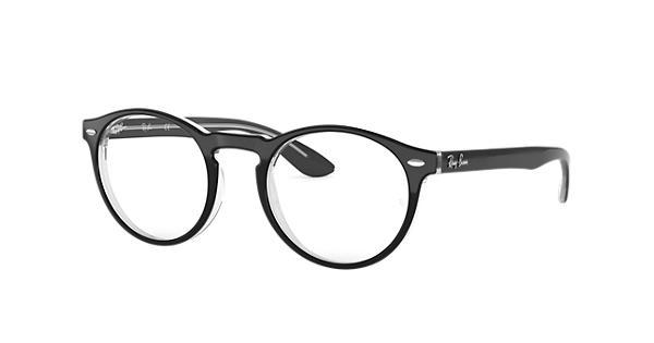 7457363884ff5 Ray-Ban prescription glasses RB5283 Black - Acetate - 0RX5283203449 ...