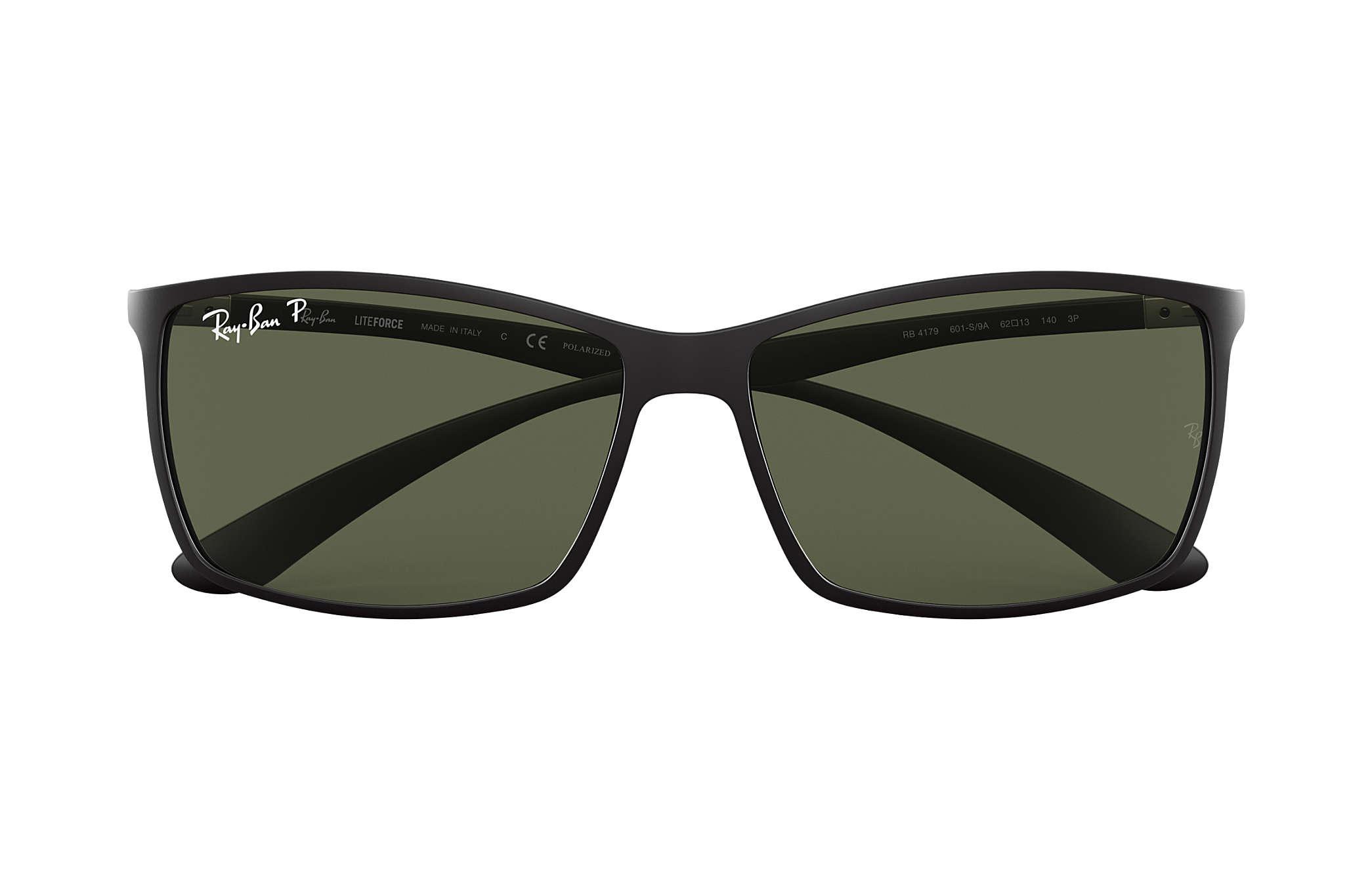 551b6d0394 Ray-Ban RB4179 Black - Liteforce - Green Polarized Lenses ...