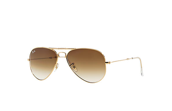 Ray-Ban Aviator Folding RB3479 Gold - Metal - Green Lenses ... 7728c252a3a2