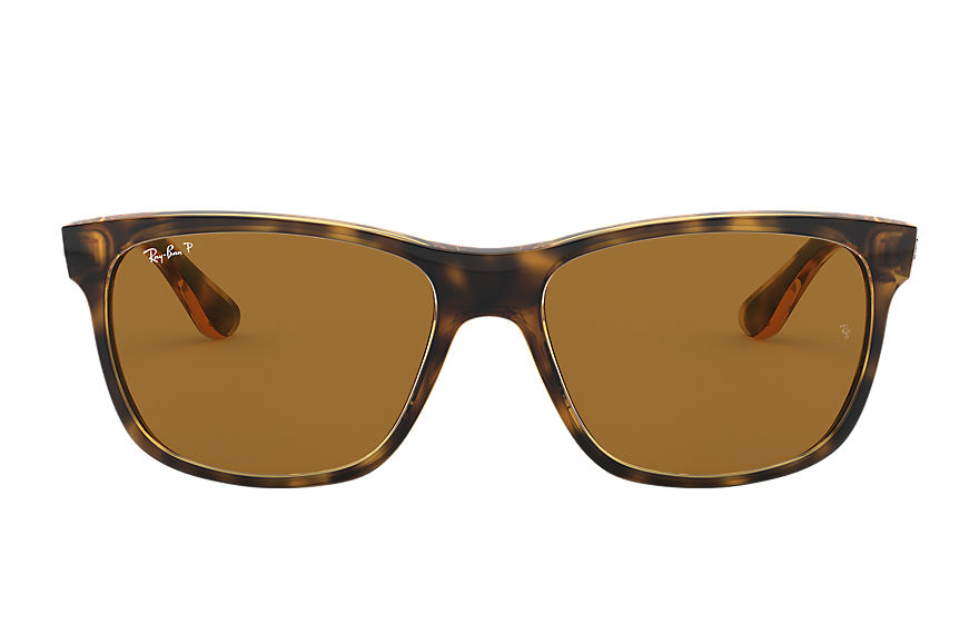 Ray-Ban Sunglasses RB4181 Tortoise with Brown Classic B-15 lens