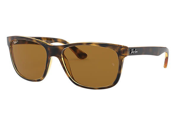 f0ca91b265 Ray-Ban RB4181 Tortoise - Nylon - Brown Polarized Lenses ...