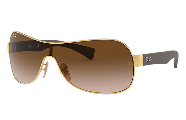 Ray-Ban 0RB3471-RB3471 Gold; Brown SUN