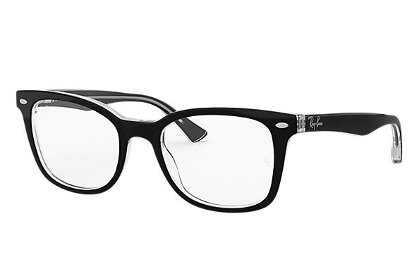 Ray-Ban 0RX5285-RB5285 Schwarz,Transparent OPTICAL