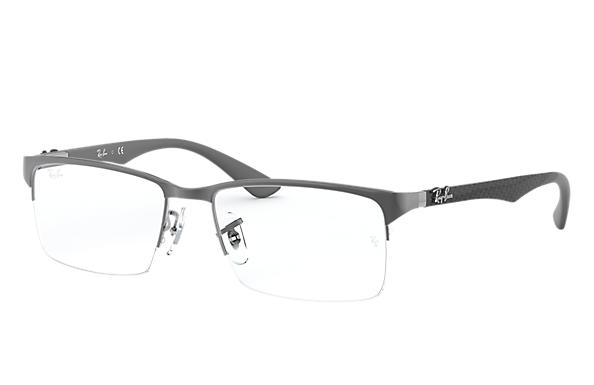 Ray-Ban 0RX8411-RB8411 Canna di fucile; Grigio OPTICAL