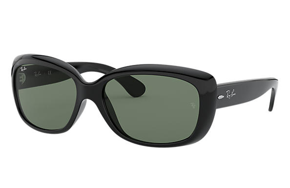 Ray-Ban JACKIE OHH Black with Green Classic lens