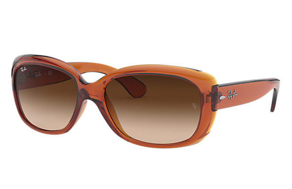 Ray-Ban 0RB4101F-JACKIE OHH LOW BRIDGE FIT Brown SUN