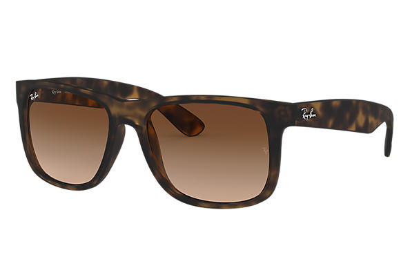 9fa769e09f Ray-Ban Justin Classic RB4165F Tortoise - Nylon - Brown Lenses ...