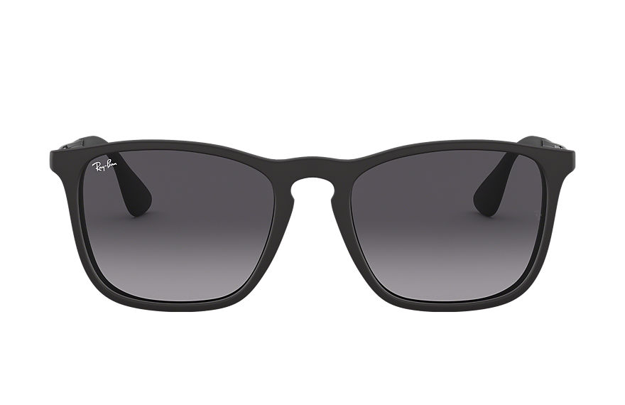 Ray-Ban CHRIS Negro con lente Gris Degradados