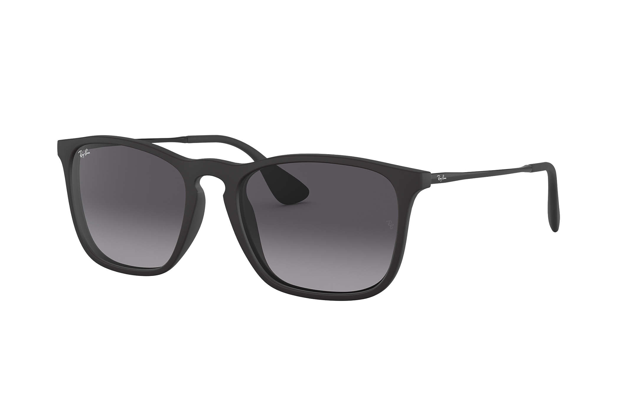 f9f9c847020 Ray-Ban Chris RB4187 Black - Nylon - Grey Lenses - 0RB4187622 8G54 ...