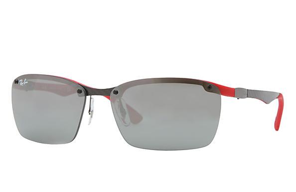 f066590cda Ray-Ban RB8312 Grey - Carbon Fibre - Grey Lenses - 0RB8312126 6G60 ...
