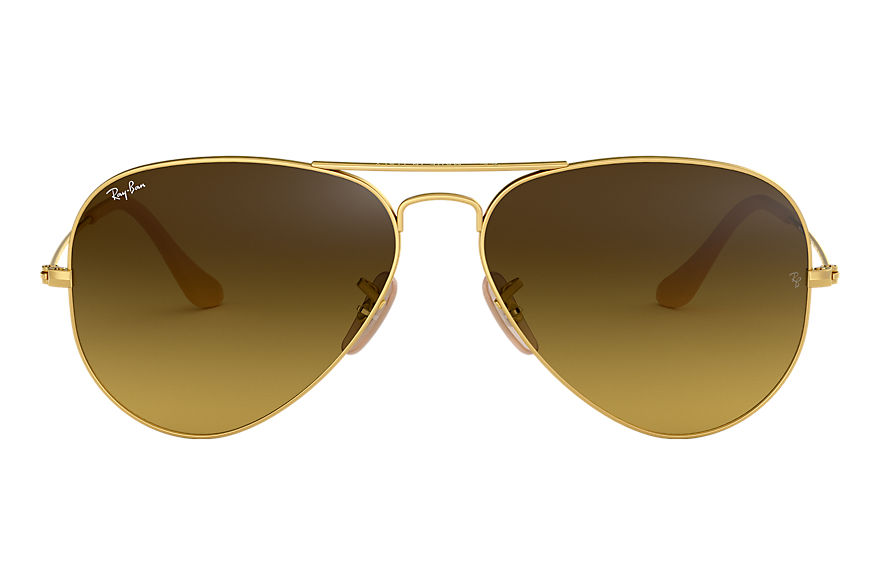 Ray-Ban  sunglasses RB3025 UNISEX 029 aviator gradient matte gold 713132584699