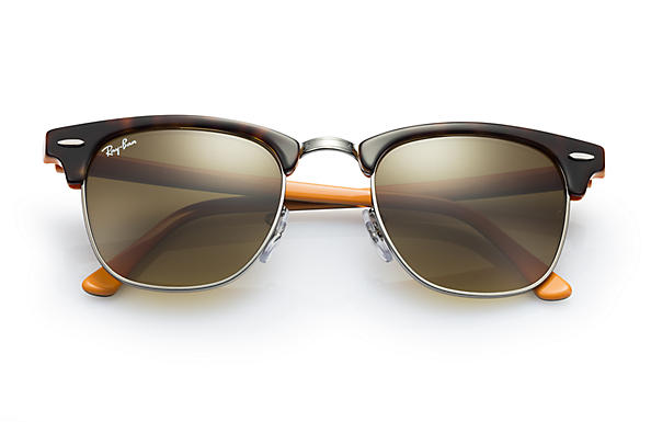 ray ban clubmaster colour mix