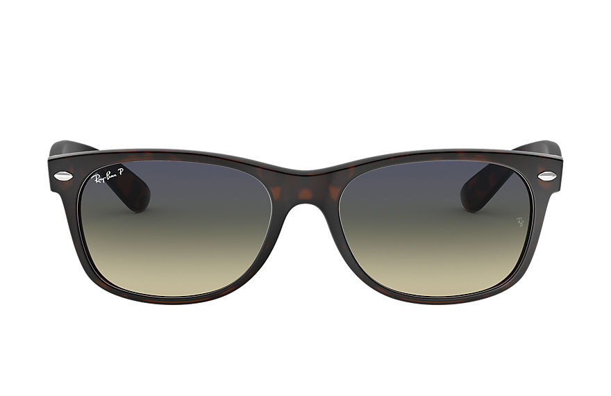 Ray-Ban Sunglasses NEW WAYFARER CLASSIC Tortoise with Blue/Green Gradient lens