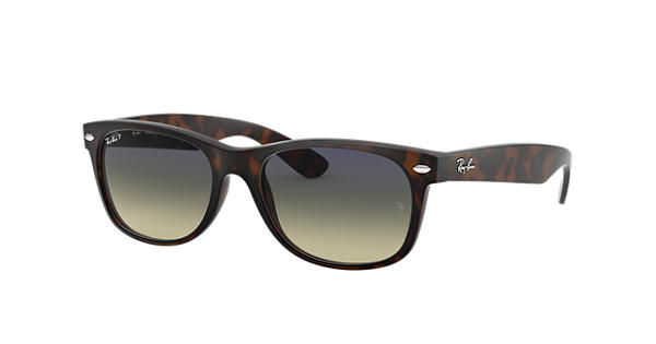 dff1ef6b759 Ray-Ban New Wayfarer Classic RB2132 Tortoise - Nylon - Blue Green ...