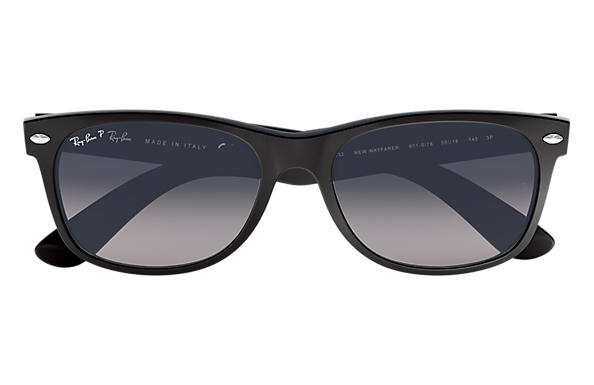 ray ban matt schwarz polarized
