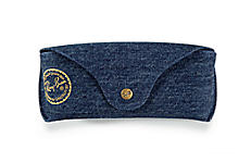 Ray-Ban SPECIAL EDITION DENIM CASE Blauw