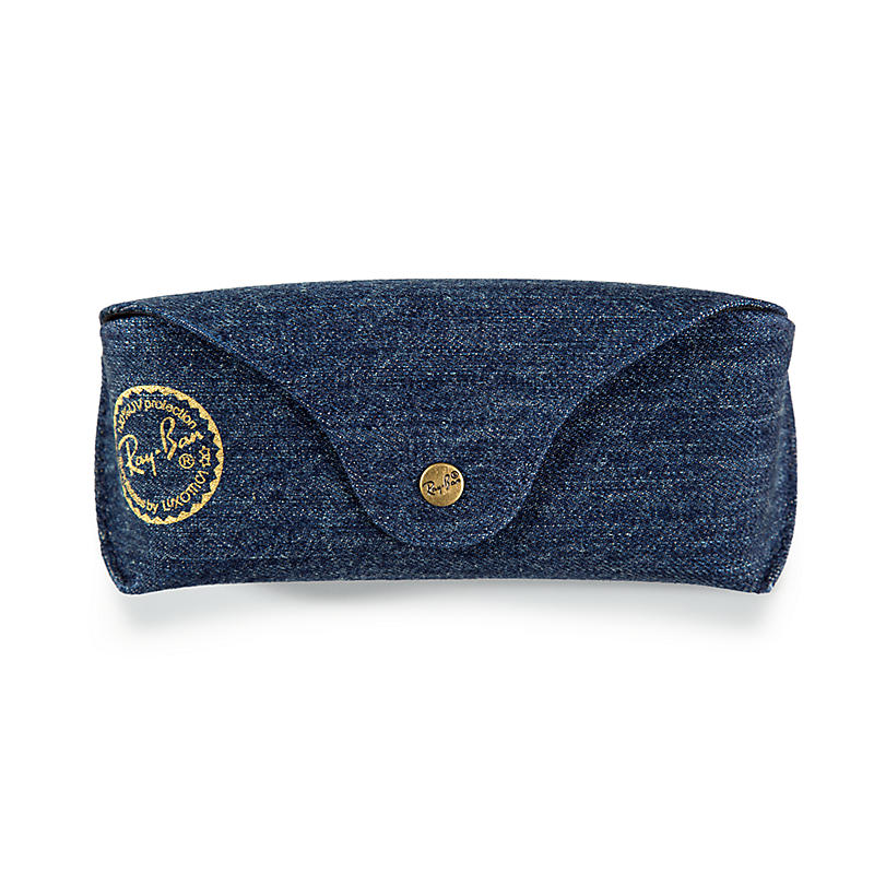 Image of Ray-Ban Special Edition Denim Case Sunglasses -