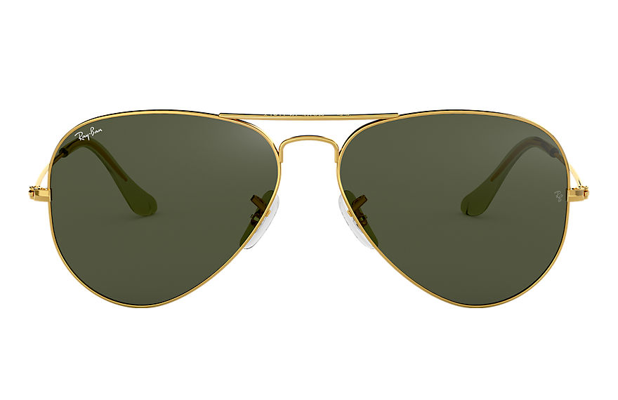 Ray-Ban  oculos de sol RB3025L UNISEX 018 aviator clássico ouro 7891318420146