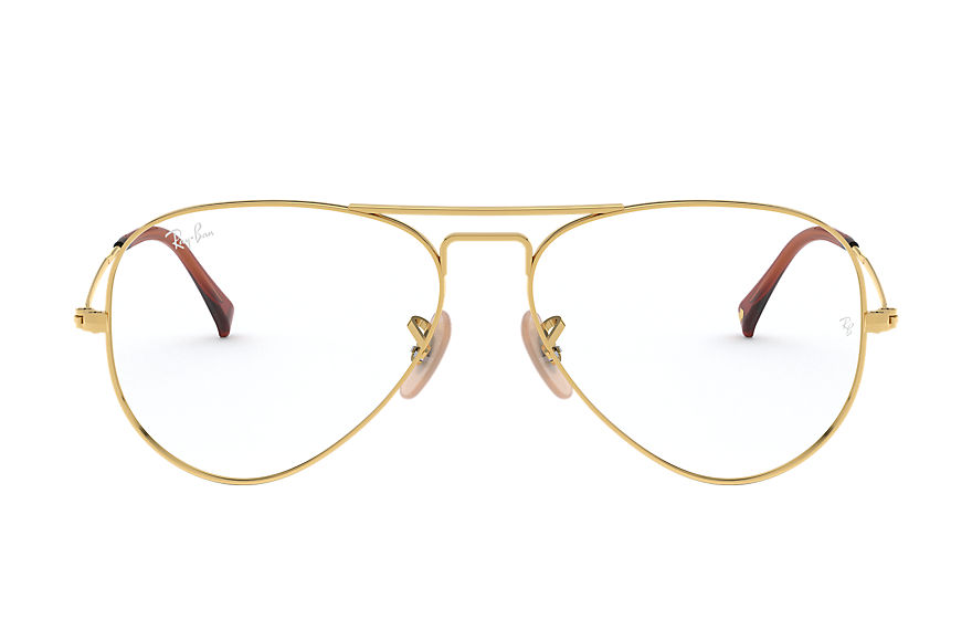 Ray-Ban Graduados Aviator Optics Ouro