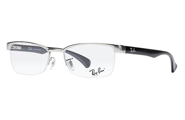 ce51086e7662b Óculos de grau Ray-Ban RB6288L Prata - Metal - 0RX6288L279251   Ray ...
