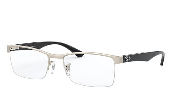 15cae3572c5f4 Óculos de grau Ray-Ban RB6301L Prata - Metal - 0RX6301L253854