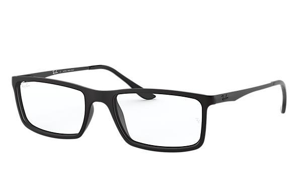 3d7a355e2 Óculos de grau Ray-Ban RB7026L Preto - Nylon - 0RX7026L519654   Ray ...