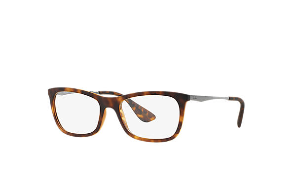 Ray-Ban 0RX7041L-RB7041 Tartaruga; Chumbo OPTICAL