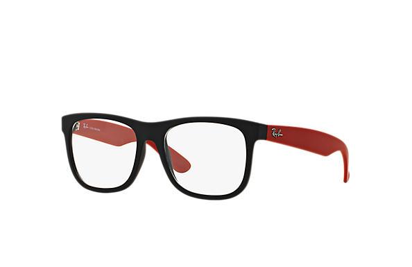 dae78e647 Óculos de grau Ray-Ban Ennio RB7057L Preto - Injetado ...