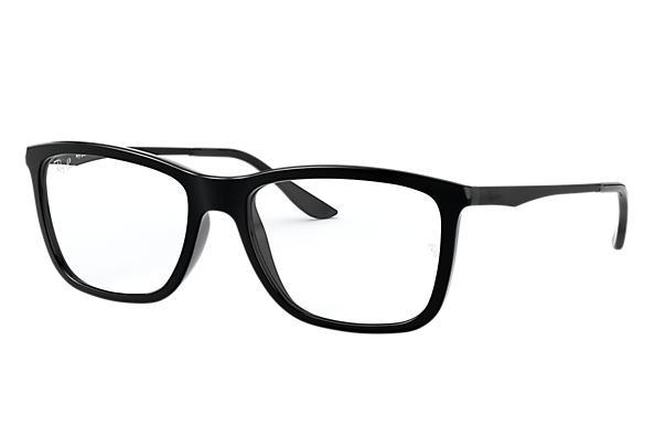 f2a2bb613 Óculos de grau Ray-Ban RB7061L Preto - Injetado - 0RX7061L200054 ...