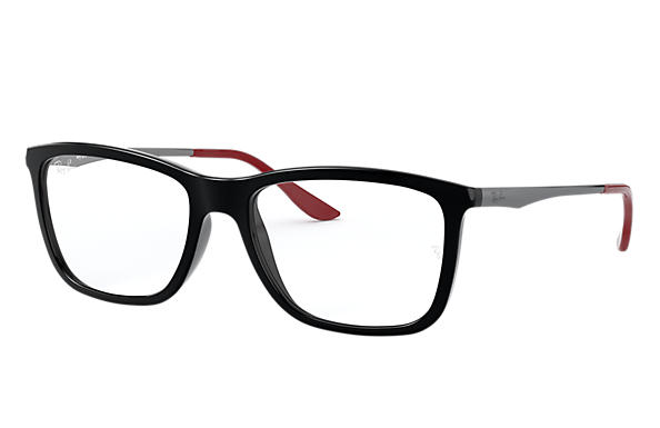 Ray-Ban 0RX7061L-RB7061 Preto; Chumbo OPTICAL