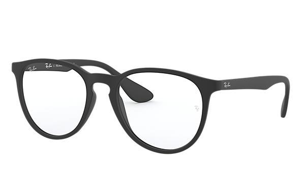 9de322a1a Óculos de grau Ray-Ban Erika Optics RB7046L Preto - Injetado ...