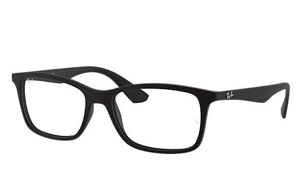 Óculos de grau Ray-Ban RB7047L Preto - Injetado - 0RX7047L519656 ... 2d50caa124