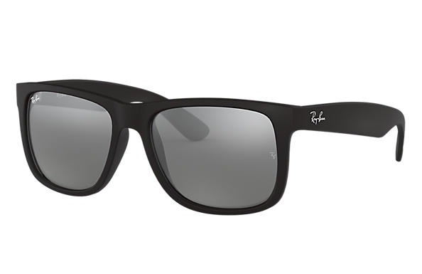 2c13963daebf0 Ray-Ban Justin Color Mix RB4165L Preto - Nylon - Lentes Cinzento ...