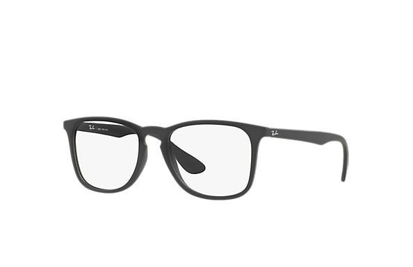 bc8c8c0d59c78 Óculos de grau Ray-Ban RB7074L Preto - Injetado - 0RX7074L536452 ...