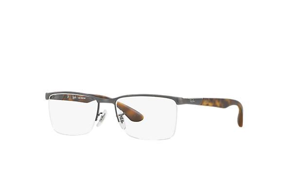Óculos de grau Ray-Ban RB6374L Chumbo - Metal - 0RX6374L255354   Ray ... e339e85a54