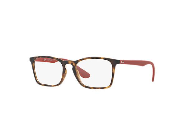 Óculos de grau Ray-Ban Chris Optics RB7045L Azul - Injetado -   Ray ... 42e4caae50