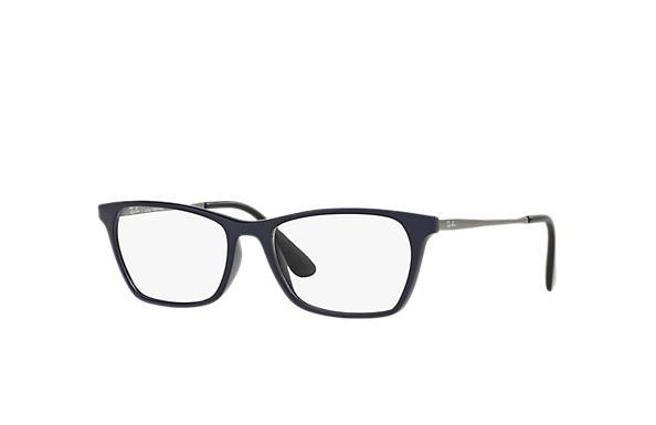 989d7ba3d4531 Óculos de grau Ray-Ban RB7053L Azul - Injetado - 0RX7053L558454 ...