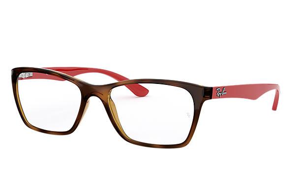 254b8d68bb6d0 Óculos de grau Ray-Ban RB7033L Tartaruga - Nylon - 0RX7033L230152 ...