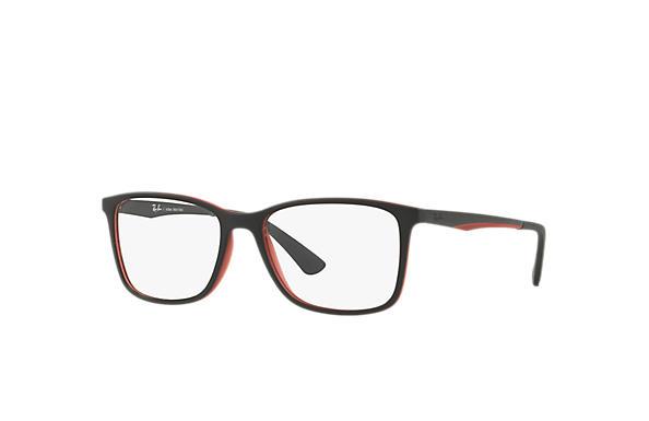 4e8f9ca18cf0e Óculos de grau Ray-Ban RB7133L Preto - Injetado - 0RX7133L800255 ...