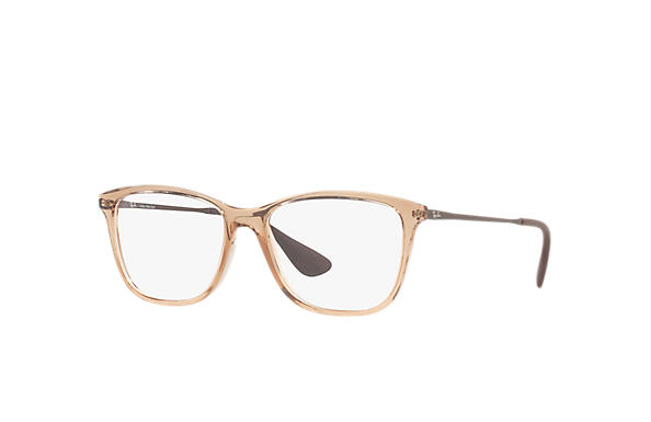 1b49dd886 Óculos de grau Ray-Ban RB7135L Marrom - Injetado - 0RX7135L570054 ...